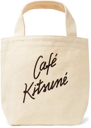 Small Logo-Print Cotton-Canvas Tote Bag