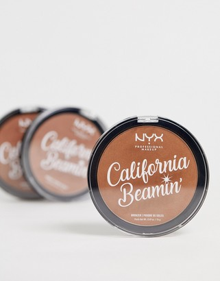 NYX California Beamin' Face And Body Bronzer - Golden State
