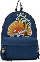 Blue Denim Sunset Backpack