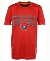 Reebok Boys' Washington Capitals TNT Freeze Reflect T-Shirt