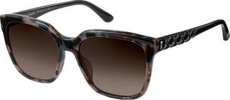 Juicy Couture Sunglasses JU 602 /S 0ACI Gray Bksptd/HA Brown Gradient
