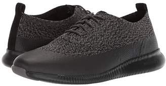 Cole Haan 2.Zerogrand Stitchlite Oxford Water Resistant (Black/Stormcloud Knit) Women's Shoes