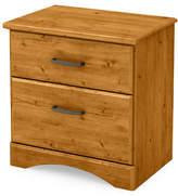 South Shore Cabana Two-Drawer Nightstand