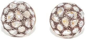 Fred Leighton Diamond Stud Earrings