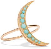 Andrea Fohrman 18-karat Gold Turquoise Ring - 6