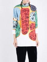Toga Printed twill dress