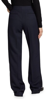 Marina Moscone Stripe Slouch Trousers