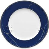 Noritake Platinum Wave Indigo Porcelain Salad Plate