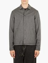 Ganryu Wool Tweed Coach Jacket