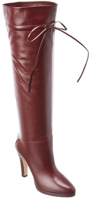 Gucci Knee High Leather Boot