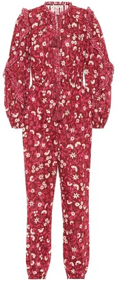 Ulla Johnson Delphine floral cotton jumpsuit