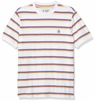 Original Penguin Men's Short Sleeve Stripe Tee