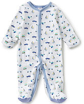 Starting Out Baby Boys Newborn-6 Months Car Print Footed Coverall