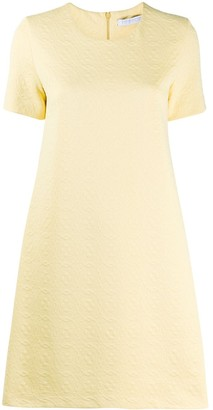 Harris Wharf London Textured Shift Dress