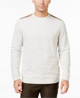 Tasso Elba Men's Shoulder Patch Sweater, Only at Macy's