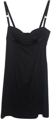 CNC Costume National Black Cotton - elasthane Dress for Women Vintage
