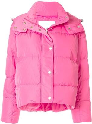 CK Calvin Klein hooded puffer jacket