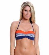 Bleu Rod Beattie Swimwear Graphic Measures Beandeau Bikini Top 8116878