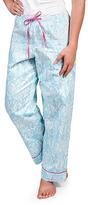 Malabar Bay Silver & Blue Sea Crest Pajama Pants