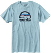Patagonia Mens Arched Logo Cotton/ Poly T-Shirt