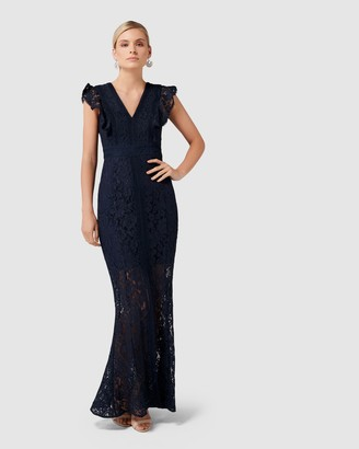 Forever New Ebony Lace Gown