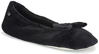 Isotoner 95810 women's Flip flops in Black
