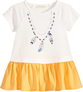 First Impressions Necklace-Print Cotton Tunic, Baby Girls (0-24 months), Created for Macy's