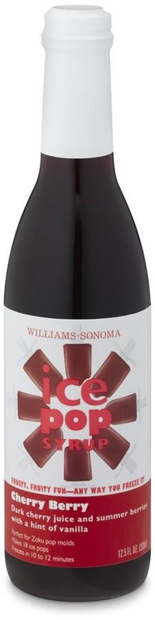 Williams-Sonoma Cherry Berry Ice Pop Syrup