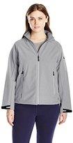Champion Women's Plus-Size 4-Way Stretch Softshell Jacket