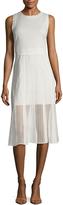 Ava & Aiden Women's Lace Midi A-Line Dress