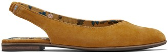 Toms Buckthorn Brown Suede Women's Julie Slingback Flats