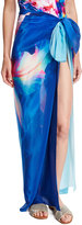 Gottex Hawaii Pareo Swim Coverup, Blue Multi