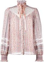 Marc Jacobs paisley print blouse - women - Silk/Cotton/Nylon - 2