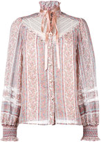 Marc Jacobs paisley print blouse - women - Silk/Cotton/Nylon - 4