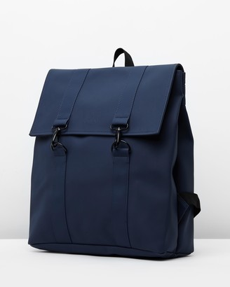 Rains Blue Backpacks - MSN Bag - Size One Size at The Iconic