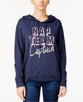 Rebellious One Juniors' Nap Team Captain Graphic Hoodie