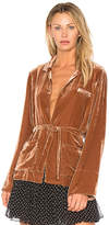Mes Demoiselles Giacomo Top in Tan. - size 38/S (also in 40/M,42/L)