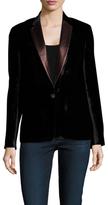 Paul Smith Notch Collar Button Cuff Blazer