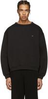 Acne Studios Black Fint Face Sweatshirt