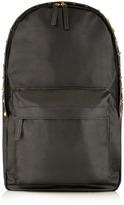 Topman Black Studded Backpack