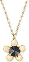 Kate Spade Sunset Blooms Gold-Tone Petal Pendant Necklace
