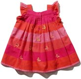 M&Co Butterfly stripe dress