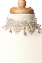 Amrita Singh Giselle Imitation Pearl Lace Choker