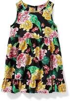 Old Navy Ruffle-Hem Swing Dress for Baby