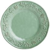 Pier 1 Imports Tuscan Scroll Green Melamine Salad Plate