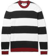 McQ by Alexander McQueen Striped Wool Sweater