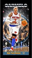 Steiner Sports New York Knicks Carmelo Anthony 10'' x 20'' Profile Wall Art