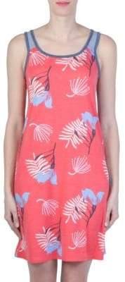 Claudel Printed Short Gown