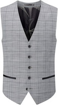 Skopes Keenan Check Suit Waistcoat