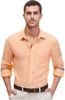 Nautica Men's Solid Linen Shirt